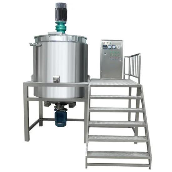 1000L Liquid Homogenizer Mixer Heating Mixing Machine