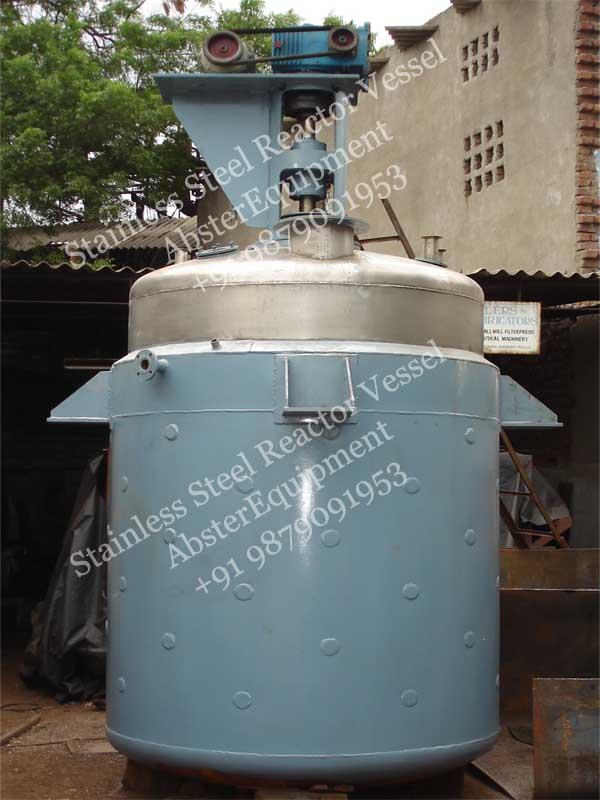 High Pressure Jacketed Vacuum Chemical Reactor Mixing Vessel