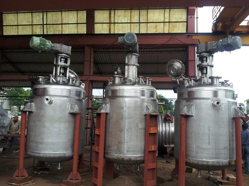 Stainless Steel Chemical Reactor Vessel